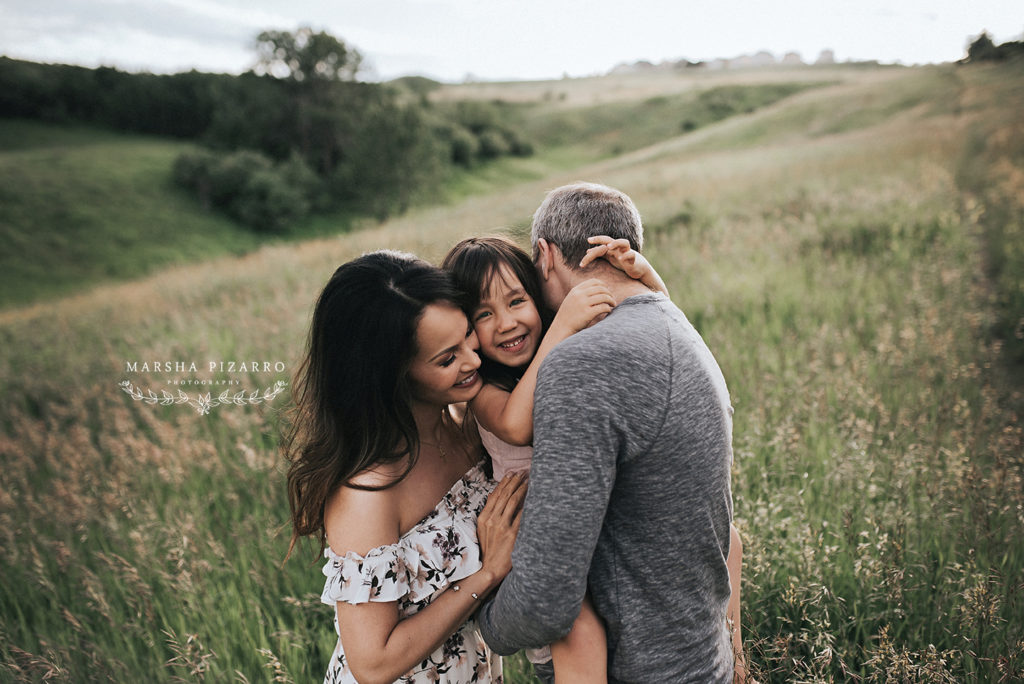 Nose Hill, Calgary Family Photography session